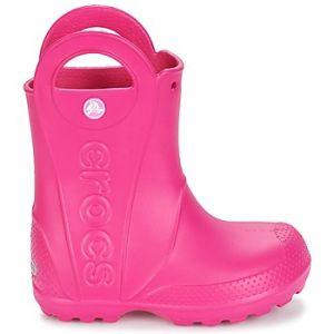 Crocs Handle It,Bottes de Pluie,Mixte Enfant,Rose (Candy Pink), 22/23 EU