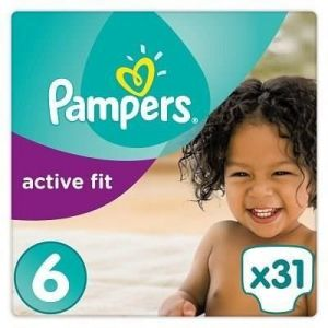 Pampers Active Fit taille 6 - 31 couches