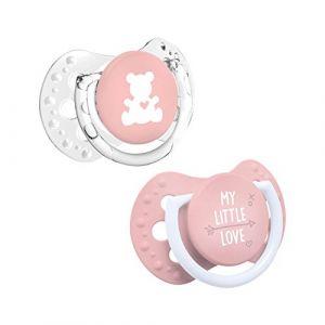 Lovi My Little Love Mini Chupetes Dinamicos Niña 0-2m 2uds *