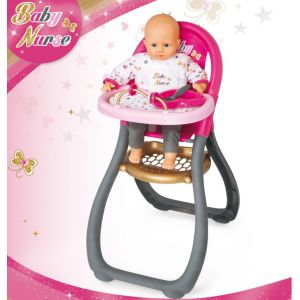 Smoby Chaise haute Baby Nurse