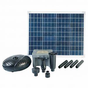 Ubbink Ensemble de panneau solaire, pompe et batterie SolarMax 2500