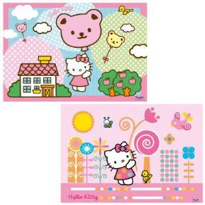 Ravensburger Puzzle 2 x 12 pièces : Hello Kitty s'envole