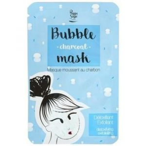 Peggy Sage Bubble charcoal Masque tissu moussant au charbon