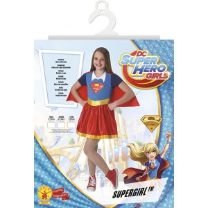 Rubie's Déguisement classique Supergirl Superhero Girls