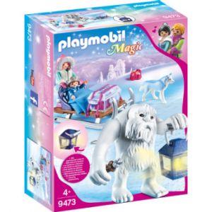 Image de Playmobil 9473 - Yéti avec traineau