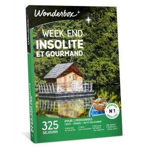 Wonderbox Week-end insolite et gourmand - Coffret cadeau 325 séjours