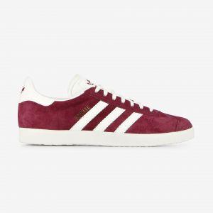 Adidas Gazelle, Chaussures de Fitness Homme, Rouge (Buruni/Ftwbla/Dormet 000), 44 EU