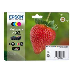 Epson T2996 - Cartouches d'encre 29XL noir, cyan, jaune, magenta