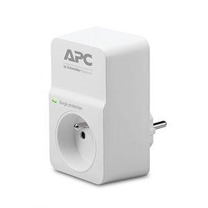 APC SurgeArrest Essential - Protection contre les surtensions - CA 230 V - connecteurs de sortie : 1 - France - blanc