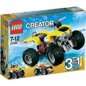 Lego 31022 - Creator 3 en 1 : Le quad turbo