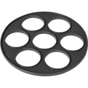 EssentielB Moule en silicone à blinis 7 empreintes