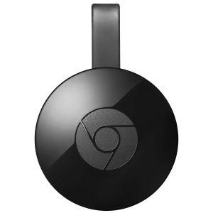Google Chromecast (2éme gen.) - Appareil Multimédia de diffusion de contenus sur port HDMI pour Smartphone et Tablette