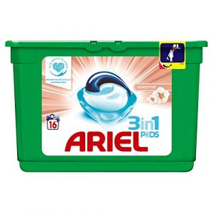Ariel Sensitive Lessive en Capsules 16 Lavages