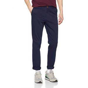 Jack & Jones NOS Jjimarco Jjbowie Sa Navy Blazer Noos Pantalon Homme, Bleu, W31/L32 (Taille Fabricant: 31)