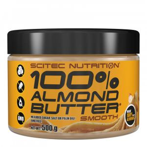Scitec nutrition 100% Almond Butter 500 g Smooth