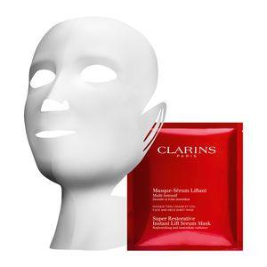 Clarins Masque-Sérum Liftant Multi-Intensif - Masque tissu visage et cou