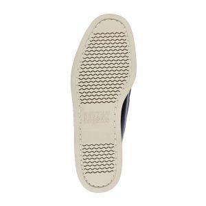 Sebago Portland Zen Canvas, Chaussures Bateau Hommes, Bleu