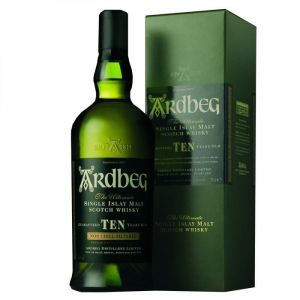 Ardberg Whisky Single Islay malt 10 ans (70cl)