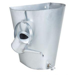 Aubry Gaspard Récupérateur d'eau de pluie en zinc