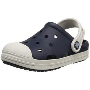 Crocs Bump It Clog Kids, Mixte enfant Sabots, Bleu (Navy/Oyster), 29-30 EU