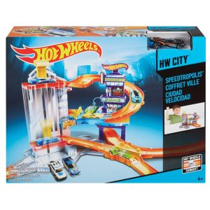 Mattel Hot Wheels Coffret Garage Ville