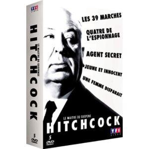 Coffret Hitchcock : Le maître du suspens - 5 DVD