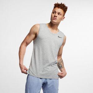 Nike Débardeur de training Breathe pour Homme - Gris - Taille L