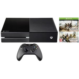 Microsoft Xbox One 500 Go + Assasins Creed