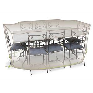 Housse de protection pour salon de jardin Luxe 290 x 130 x 70 cm