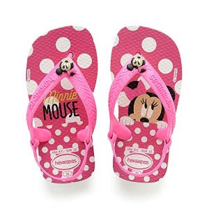 Havaianas Tongs enfant BABY DISNEY CLASSICS rose - Taille 19,20,21,22,17 / 18