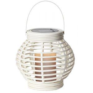Best Season Star Décoration de jardin, lanterne solaire LED, blanc, 16 x 16 x 16 cm, 479?28
