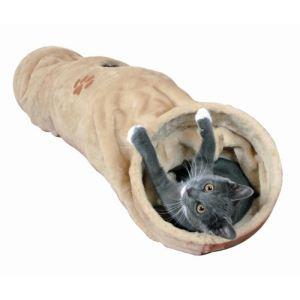 Trixie Tunnel à bruissement Crunch pour chat (125 cm)