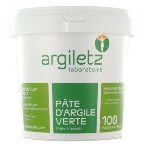 Argiletz Argile verte prête à l'emploi, pot 1.5kg