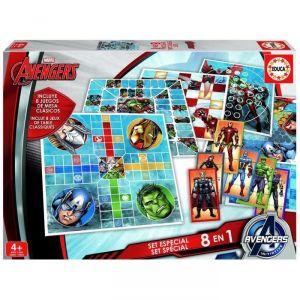 Educa Avengers 8 jeux en 1