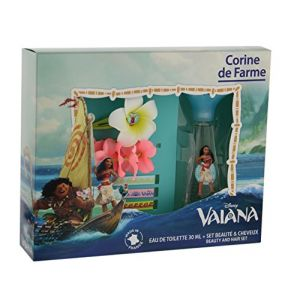 Corine de Farme Vaiana - Coffret eau de toilette, barrette, bracelet et 3 rubans