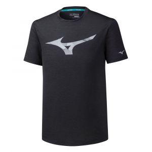 Mizuno Impulse Core RB Tee Men, black M T-shirts course à pied