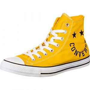 Converse Chaussures CHUCK TAYLOR ALL STAR - HI - Couleur 36,37,38,39,40,41,42,43,44,45,46,42 1/2,37 1/2,41 1/2,36 1/2,39 1/2 - Taille Jaune