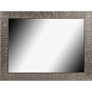 Miroir 70x50 comparer 274 offres for Miroir encadrement noir