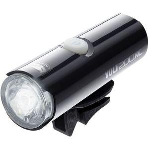 Cateye Éclairage avant et réflecteurs de vélo Volt 200 XC Noir