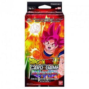 Abysse Corp Jeu de cartes Bandai-Dragon Ball Z Super Jcc Spécial Pack Série 6