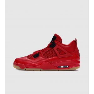 Image de Nike Chaussure Air Jordan 4 Retro pour Femme - Rouge - Couleur Rouge - Taille 44