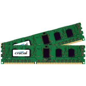 Crucial CT2KIT25664BA160B - Barrettes mémoire 2 x 2 Go DDR3 1600 MHz CL11 DIMM