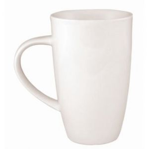 Olympia 6 X Whiteware Latte Tasses à café en porcelaine de 396,9 gram 400 ml Tasse à thé