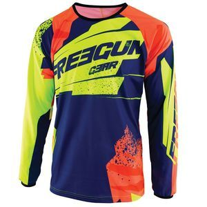 Shot by Freegun Gants Freegun-by-shot Hero - Neon Yellow / Neon Orange / Blue / Black - Taille 8-9 Années