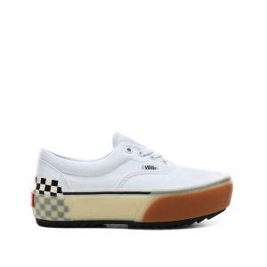 Vans Baskets Era Stacked - White / Checkerboard - EU 36