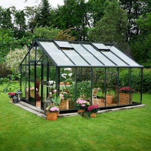 Juliana Serre anthracite 16,2m² en verre trempé Gardener