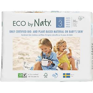 Eco by Naty 30 Couches éco Taille 3 - 4/9kg