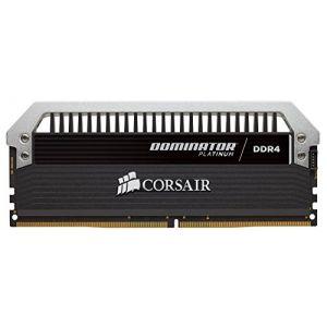 Corsair CMD16GX4M2B2400C10 - Barrette mémoire Dominator Platinum 16 Go (4x 4 Go) DDR4 2400 MHz CL10