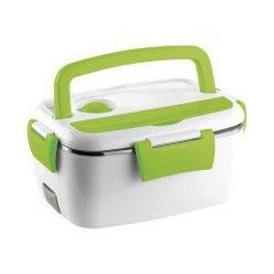 Rosenstein & Sohne Lunch box thermique électrique chauffe plats, pour nourriture, en acier 35 W boîte de 1200 ml à 2 compartiments en acier