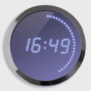 Horloge Led en métal (30 cm)